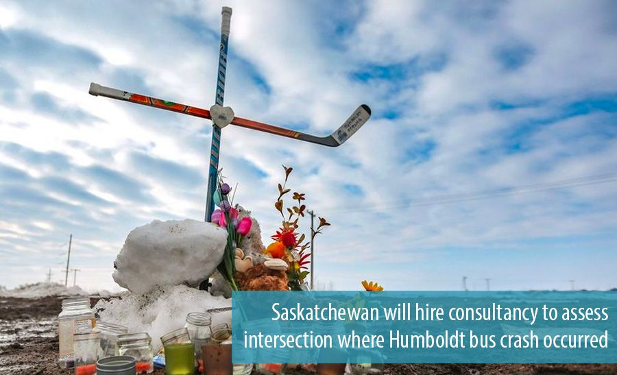 Saskatchewan will hire consultancy to assess intersection where Humboldt bus crash occurred