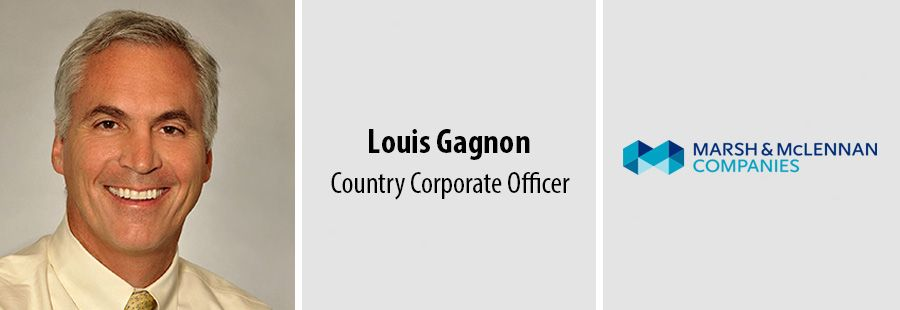 Marsh and McLennan names Louis Gagnon Country Corporate Officer for Canada
