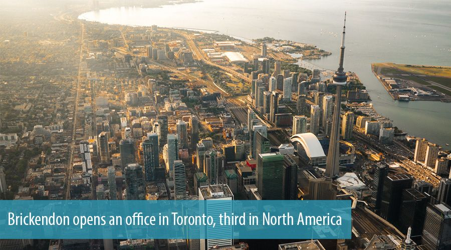Brickendon opens an office in Toronto, third in North America