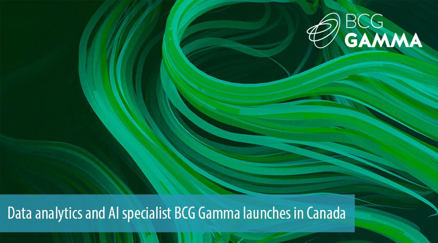 Data analytics and AI specialist BCG Gamma launches in Canada