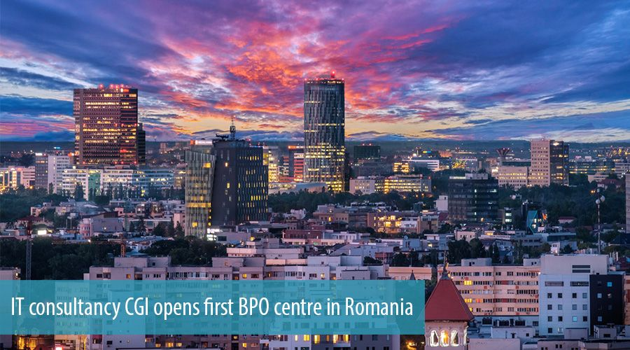 IT consultancy CGI opens first BPO centre in Romania