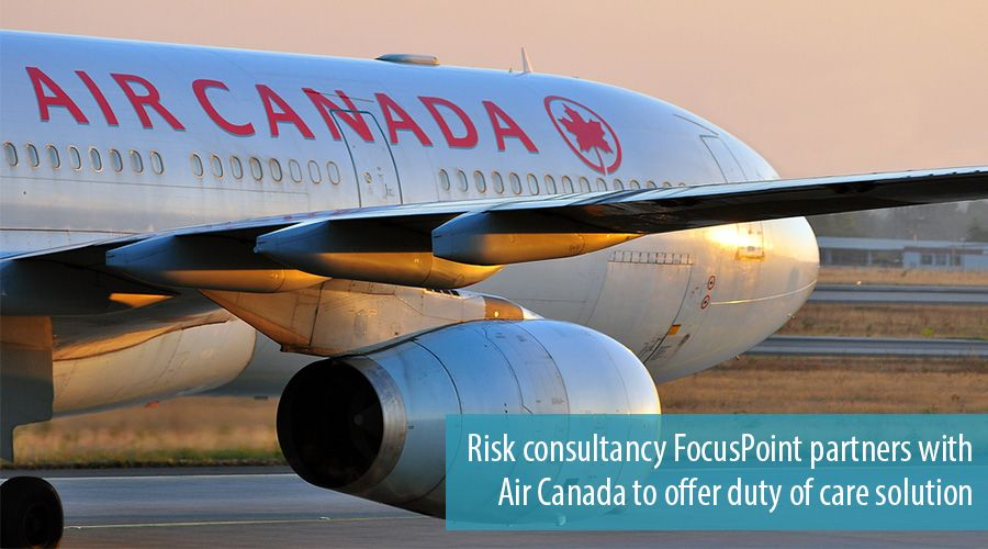 Risk consultancy FocusPoint partners with Air Canada to offer duty of care solution