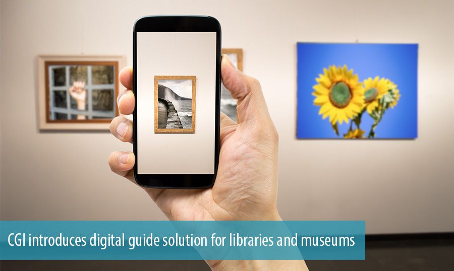 CGI introduces digital guide solution for libraries and museums