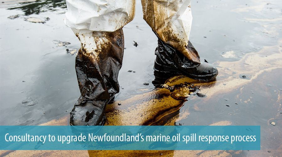 Consultancy to upgrade Newfoundland's marine oil spill response process