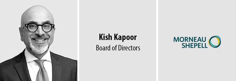 Morneau Shepell adds Kish Kapoor to Board of Directors