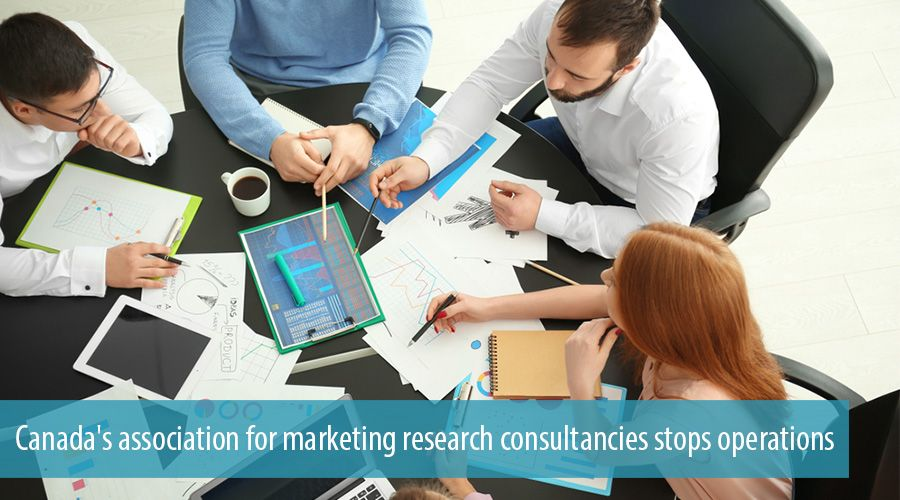 Canada's association for marketing research consultancies stops operations