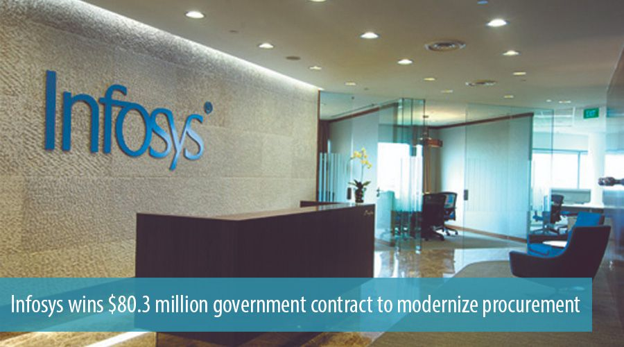 Infosys wins $80.3 million government contract to modernize procurement