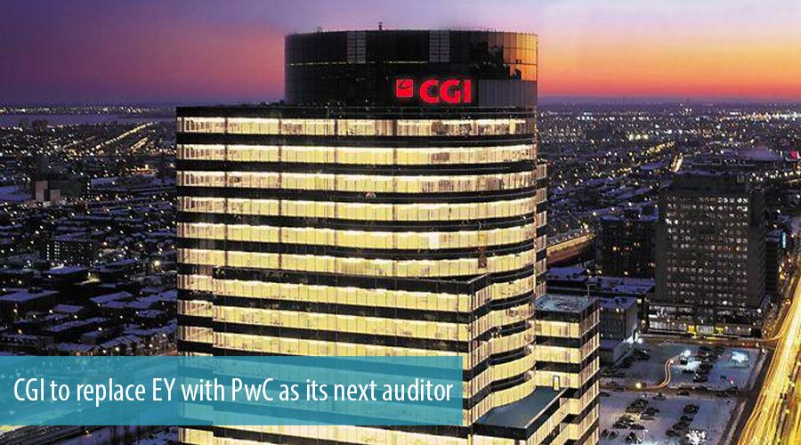 CGI to replace EY with PwC as its next auditor