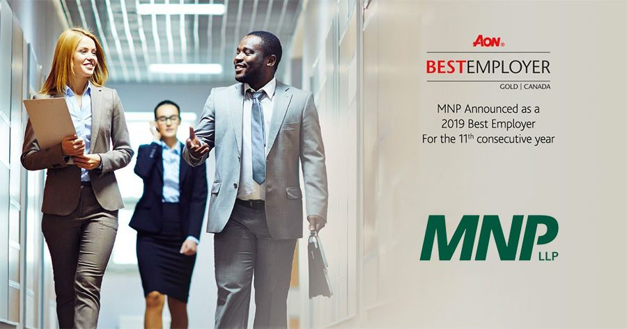 MNP named a Best Employer in Canada for 11th year in a row