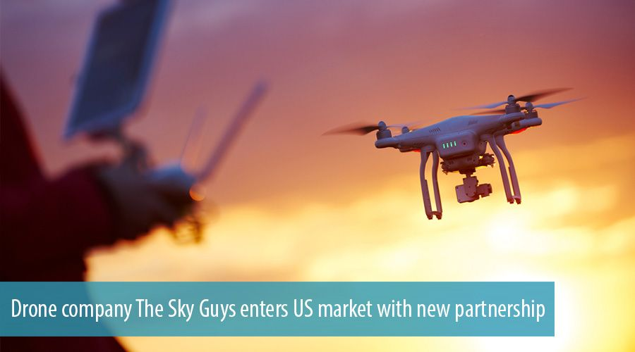 Drone company The Sky Guys enters US market with new partnership