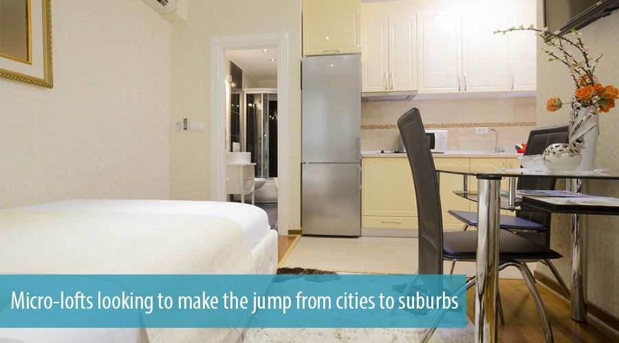 Micro-lofts looking to make the jump from cities to suburbs