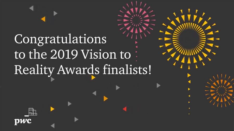 PwC Canada announces finalists in 2019 Vision to Reality Awards