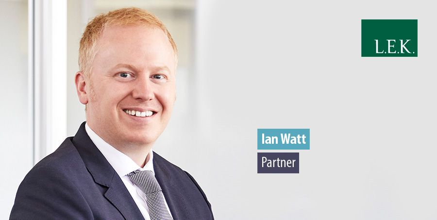 Ian Watt leaves Calgary to lead L.E.K. Consulting's Australian energy & environment practice
