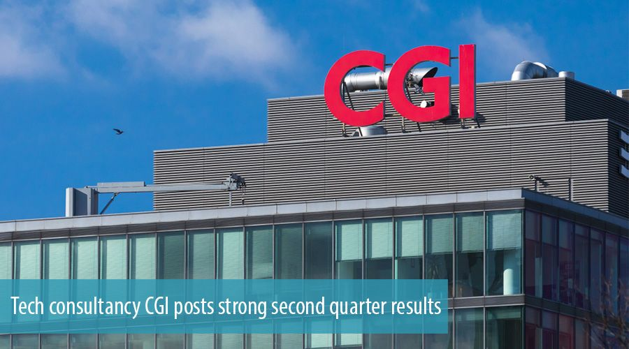 Tech consultancy CGI posts strong second quarter results
