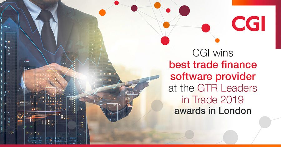 CGI wins global award for its trade finance software