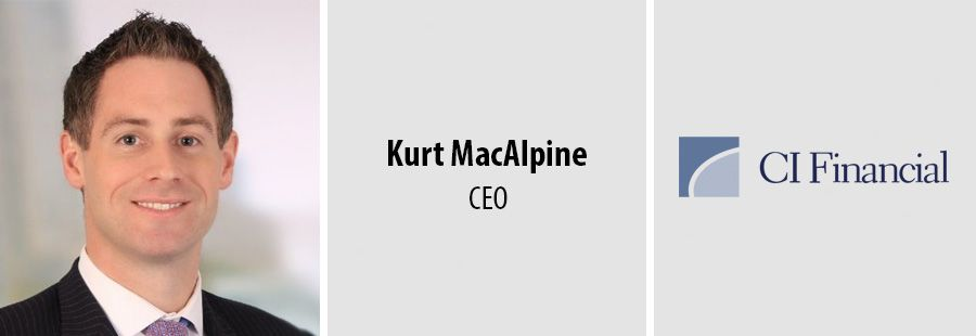 Kurt MacAlpine, CEO at CI Financial