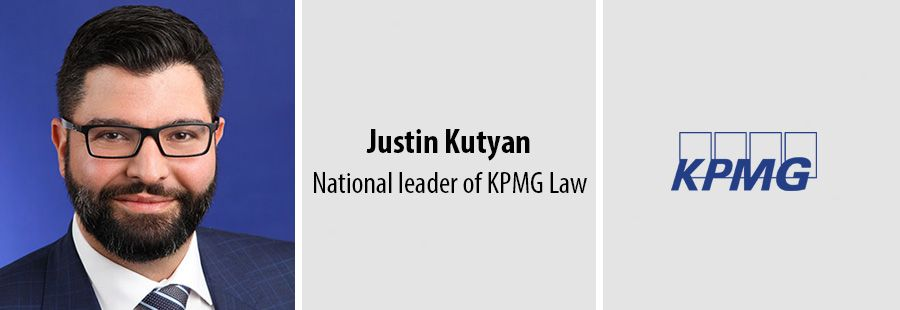 Justin Kutyan, national leader of KPMG Law