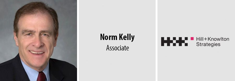 Norm Kelly, Associate at Hill Knowlton Strategies