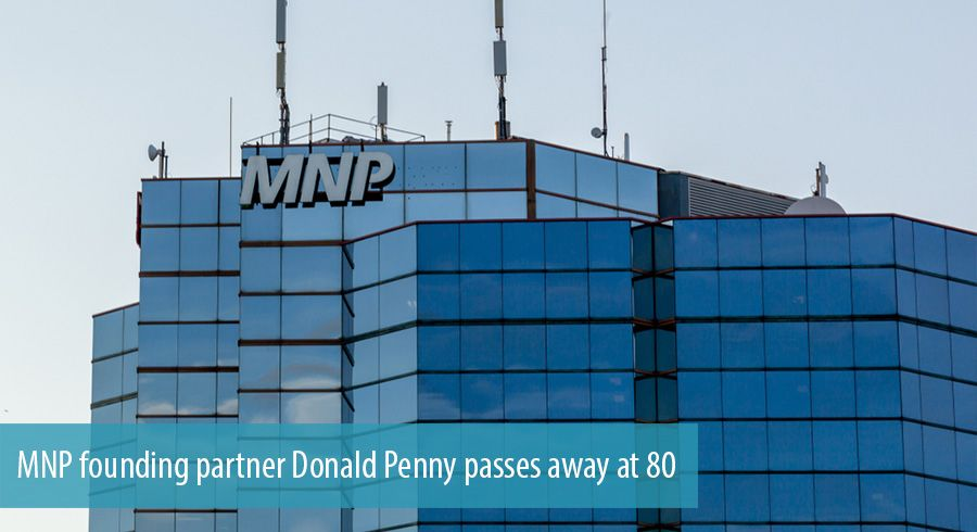 MNP founding partner Donald Penny passes away at 80