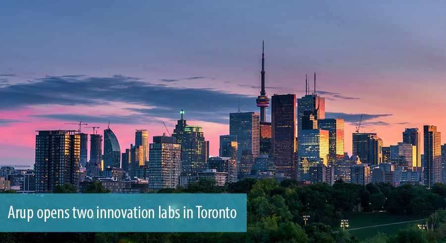 Arup opens two innovation labs in Toronto