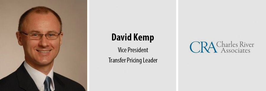 Charles River Associates adds transfer pricing expert David Kemp