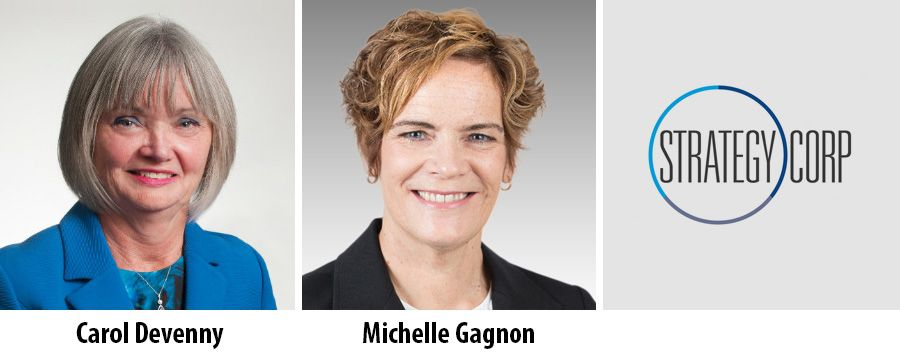 Calor Devenny and Michelle Gagnon, StrategyCorp