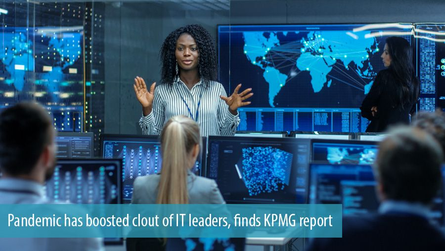 Pandemic has boosted clout of IT leaders, finds KPMG report