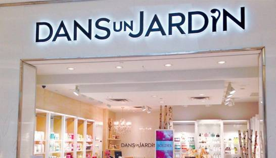 Bath products boutique chain Dans un Jardin shuts down