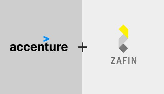 Accenture allies with fintech firm Zafin, acquires professional services assets