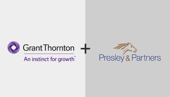 Grant Thornton acquires BC firm Presley & Partners