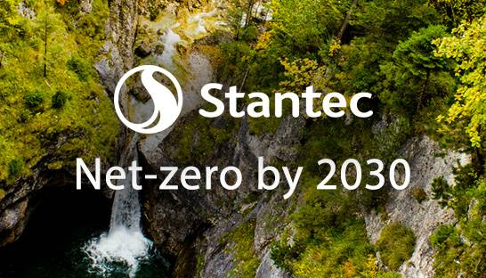 Stantec commits to net-zero emissions by 2030