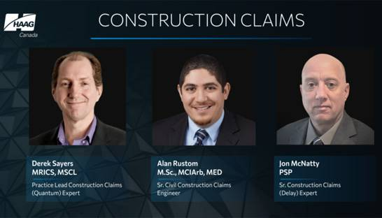 Haag Canada launches construction claims practice